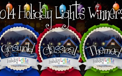 Check out Our 2014 Holiday Lights Winners!
