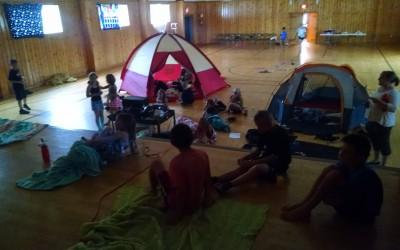 Indoor Camping
